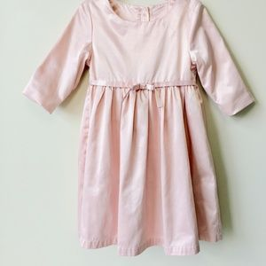 Other - Pink Buttery Satin Party Dress